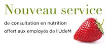 consultation en nutrition pour les employ�s