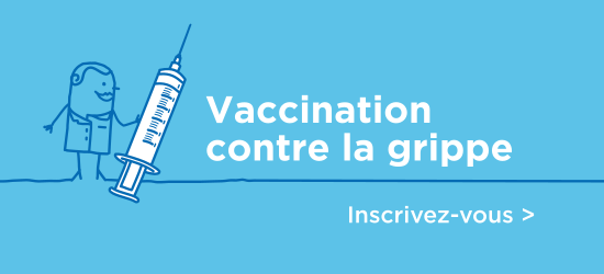 Vaccination contre la grippe   Inscrivez-vous